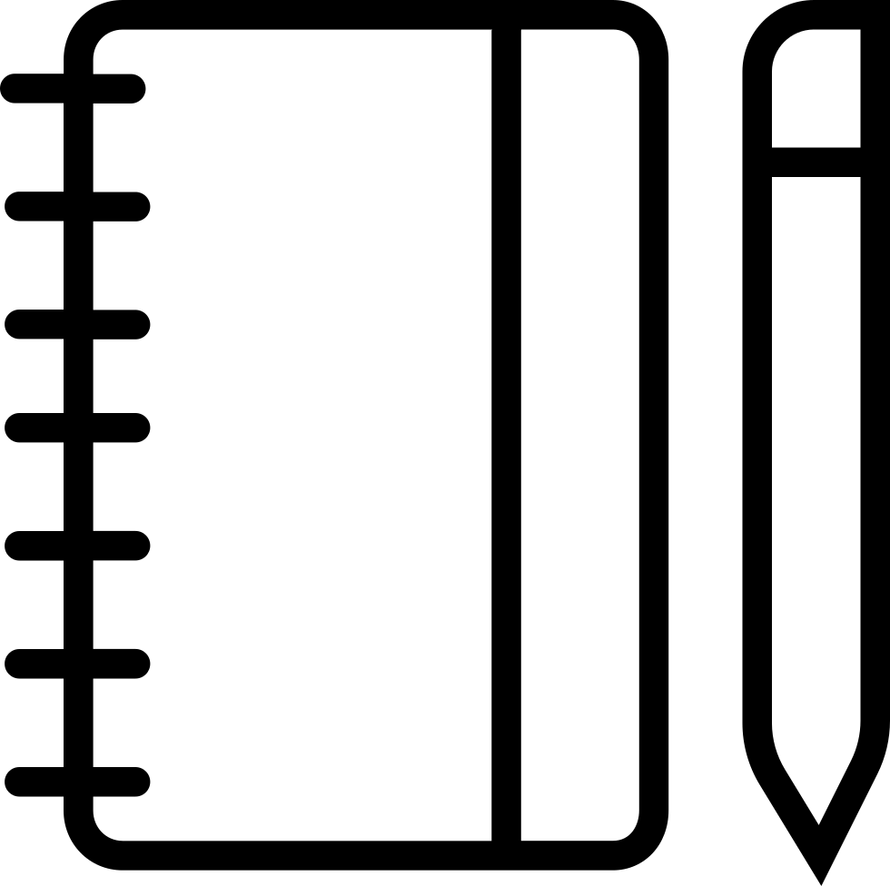 notepad clipart note book