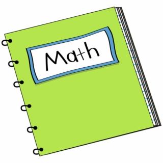 Math clip art torn. Notebook clipart mathematics book