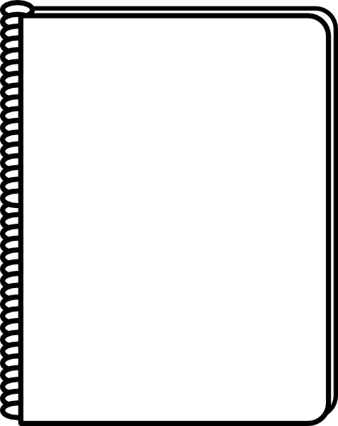 Notepad gallery for clip. Notebook clipart notebook cover