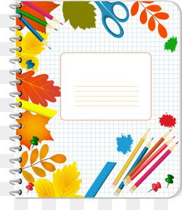 Notebook clipart notebook cover. Front png