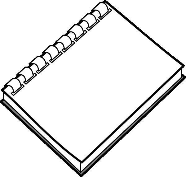 Notebook clipart notebook pen. Spiral clip art at