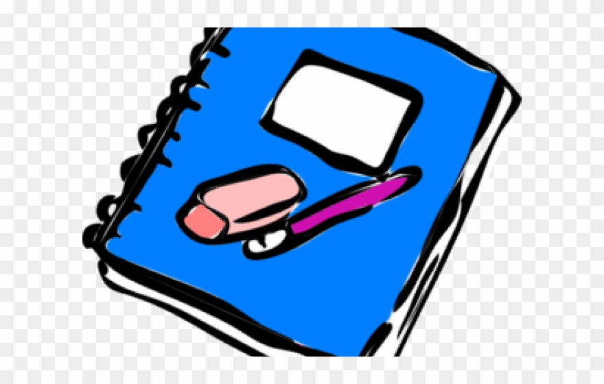 Notebook clipart notebook writing. Png download pinclipart