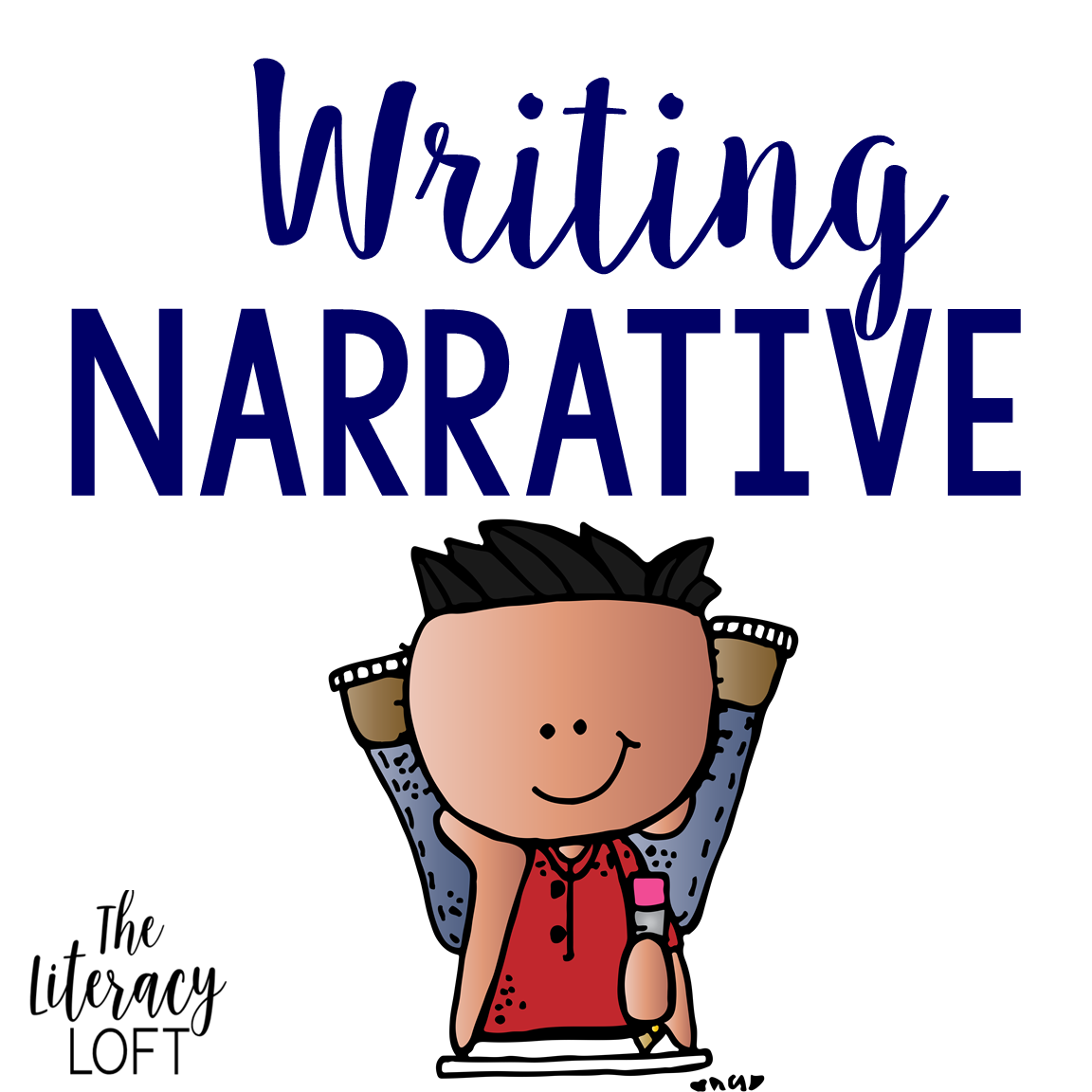 Writing unit my life. Writer clipart personal narrative
