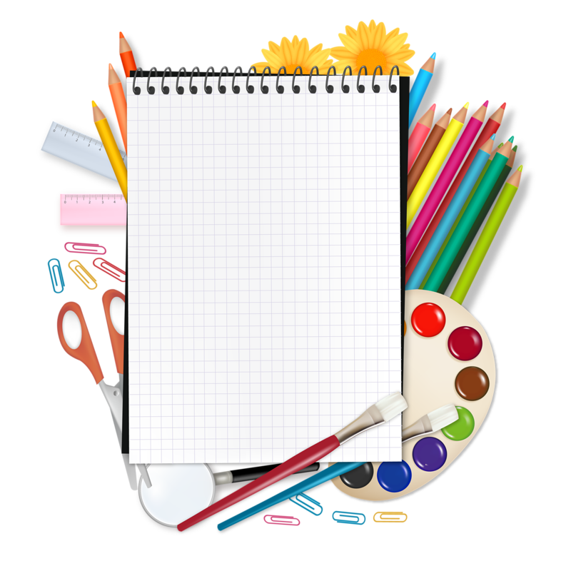 Notebook clipart school equipment.  b c f