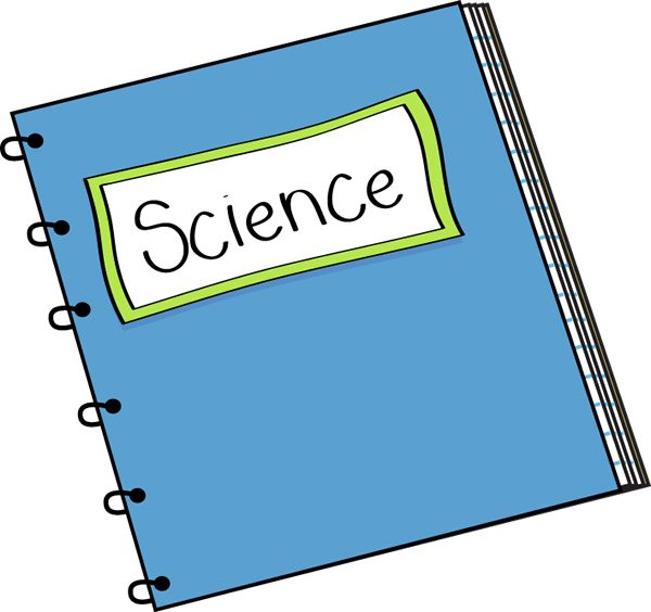 Notebook clipart science textbook. Homework book free download