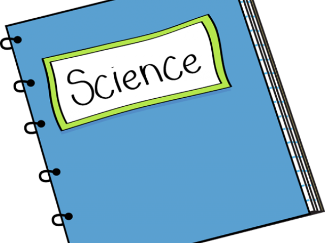 Journal clip art . Notebook clipart science textbook