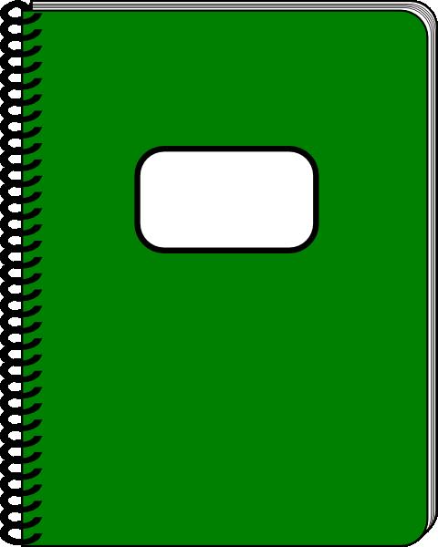 Spiral clip art at. Notebook clipart small notebook