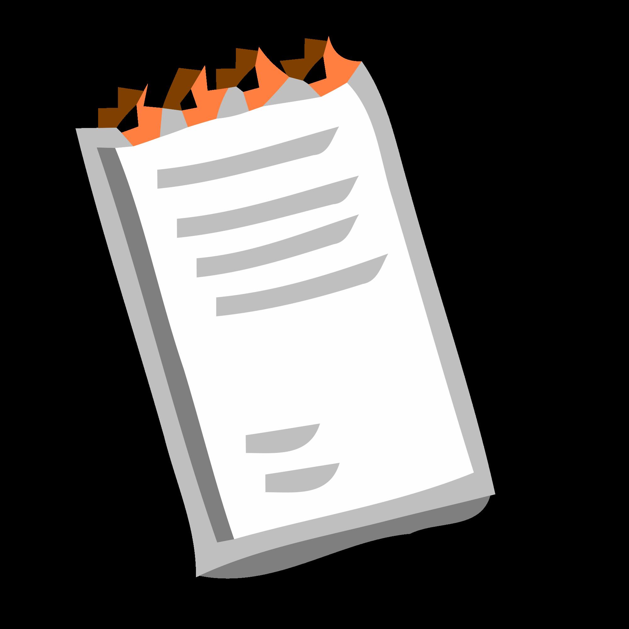 File basic svg wikimedia. Notepad clipart english notebook