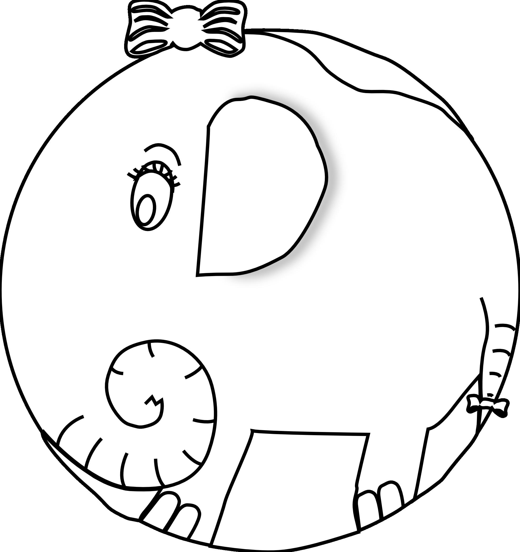 Notepad clipart black and white. Elephant panda free images