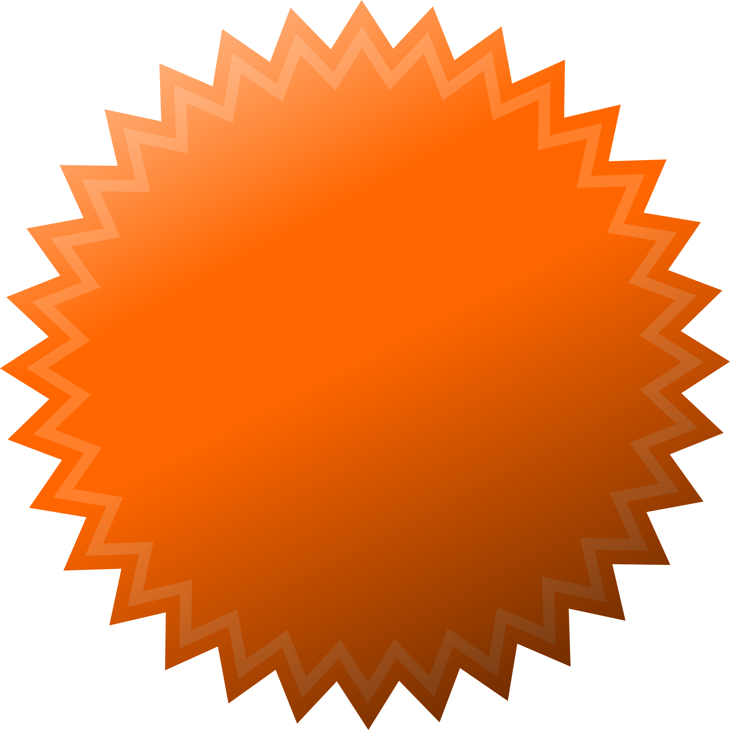 Notepad clipart blank sticker. Page orange articles at