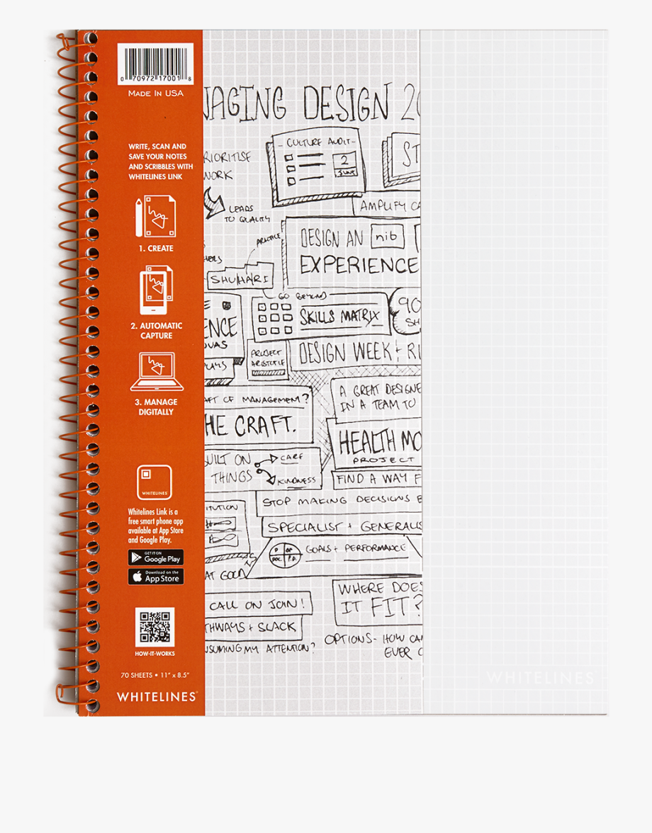 Whitelines graph . Notepad clipart english notebook