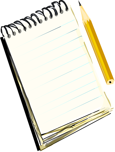Notepad clipart english notebook. Level spice up your