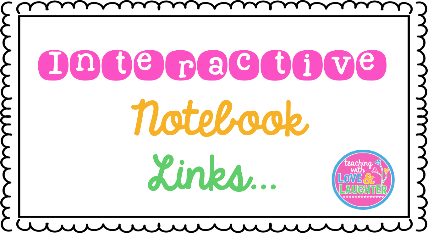 Notepad clipart interactive notebook. Teaching with love and
