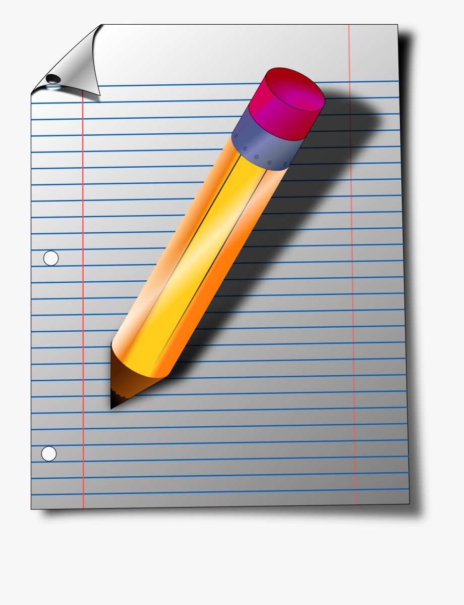 Notepad clipart journal pen. The cliparts pencil and