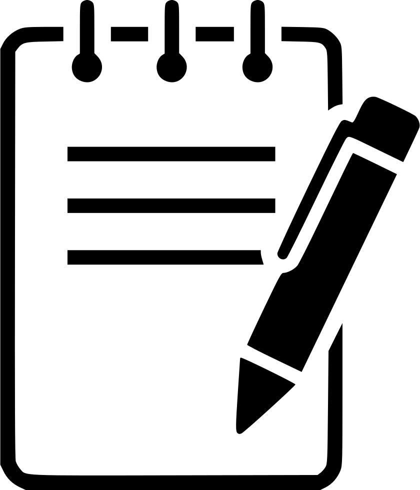 Notepad clipart notepad line.  collection of pen