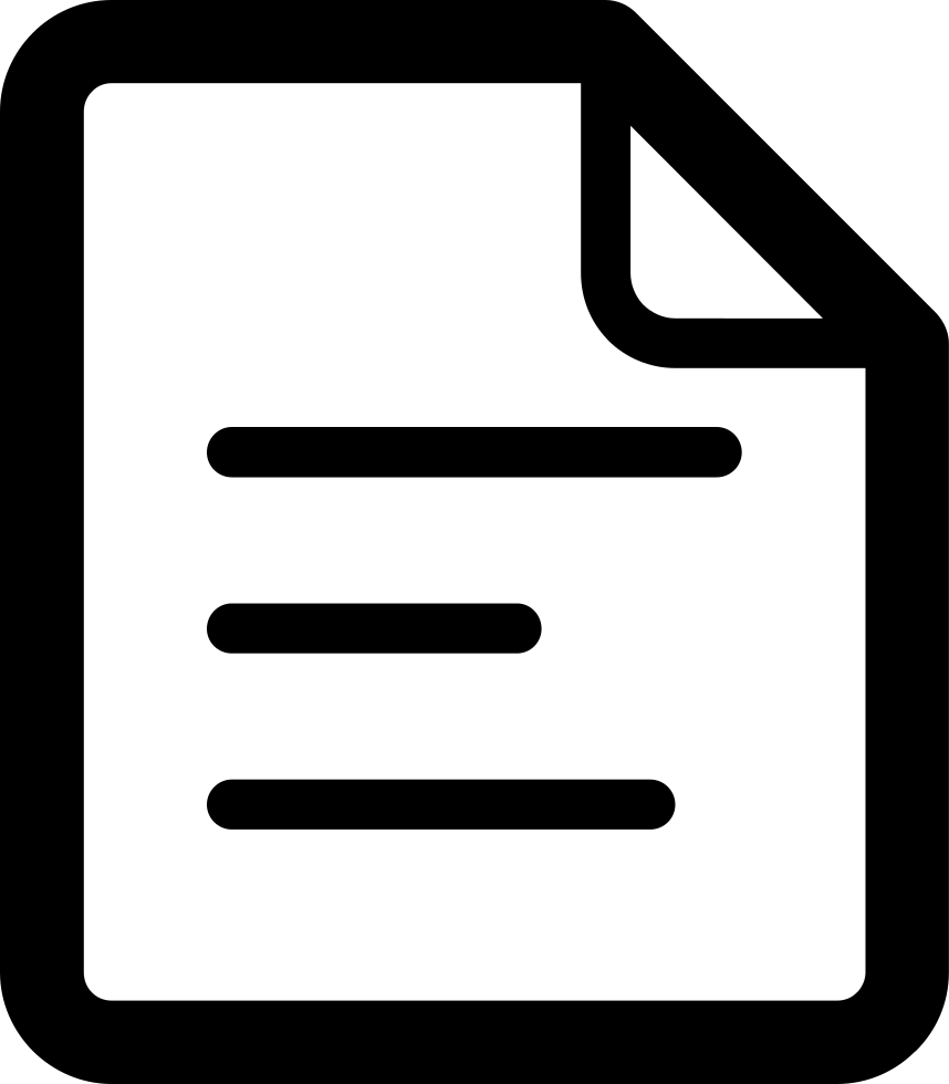 Notepad clipart poster. Svg png icon free