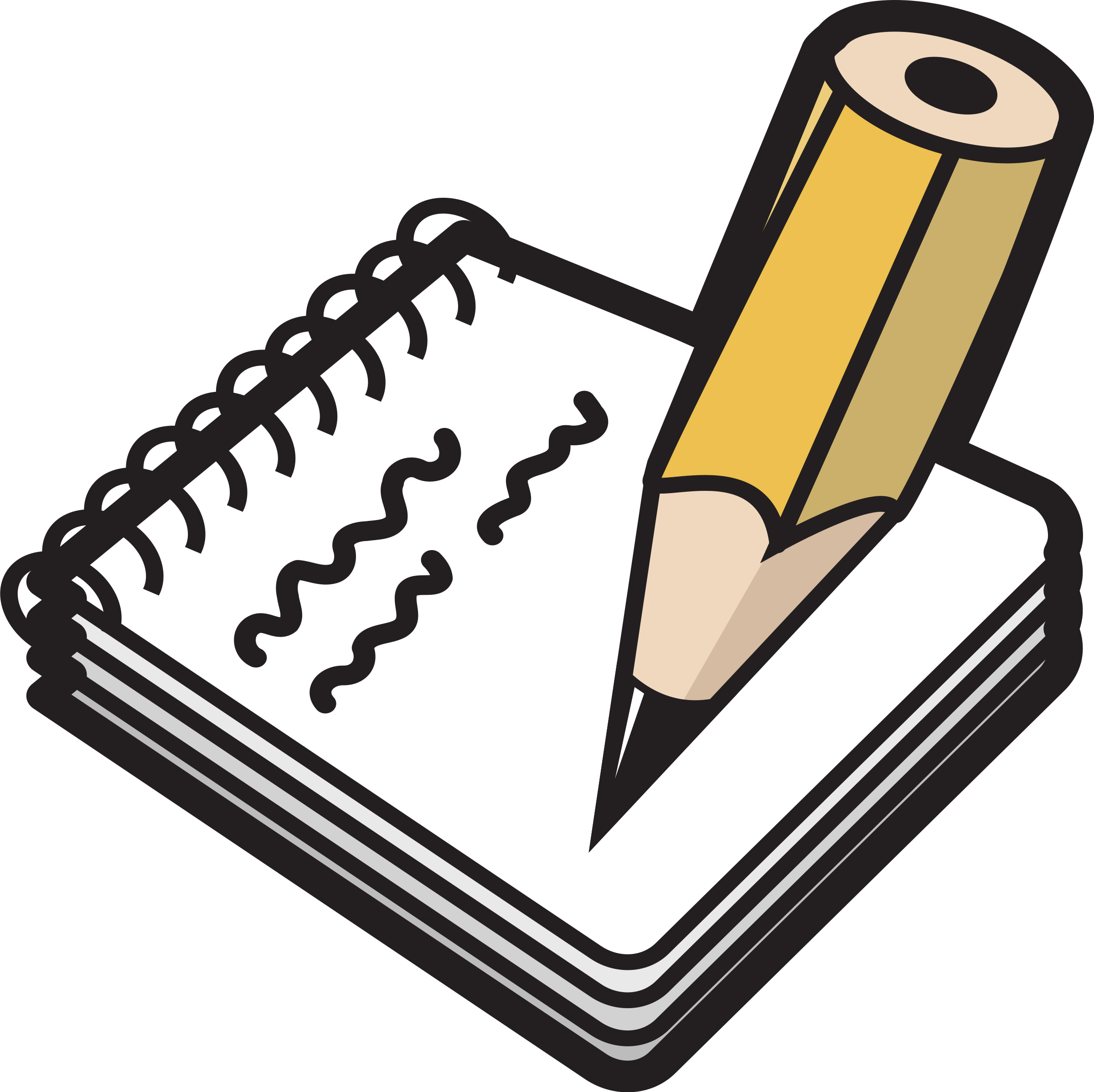 Notepad clipart sentence, Notepad sentence Transparent FREE for ...