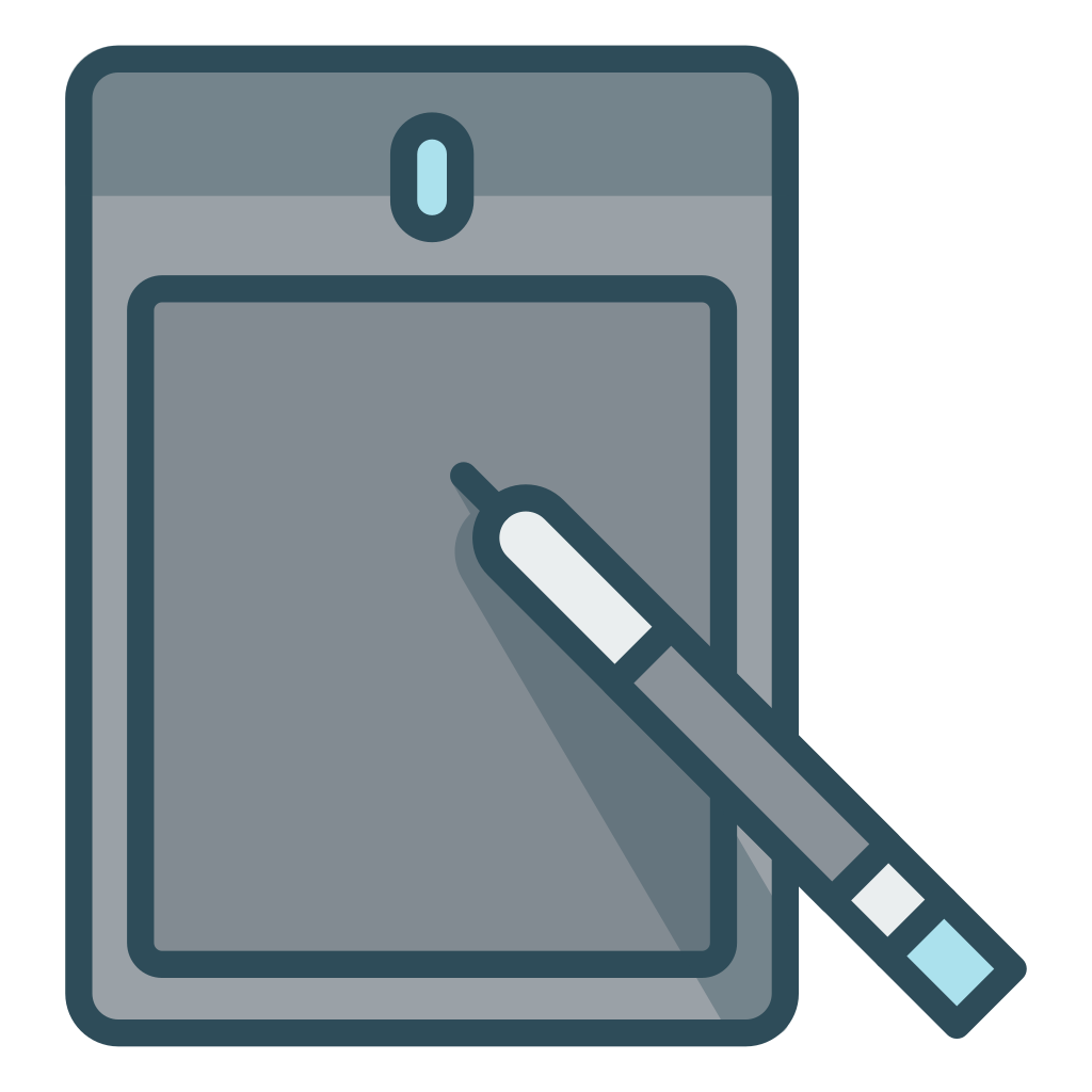 Notepad sketch pad