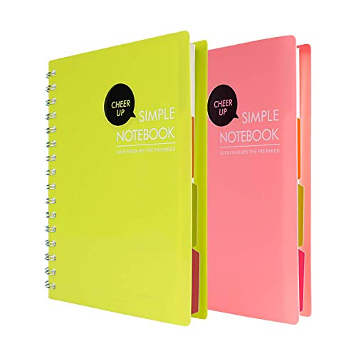 Notepad clipart spiral bound notebook. Multi subject notebooks amazon