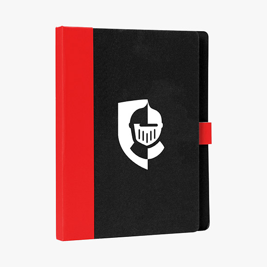 Notepad clipart spiral bound notebook. Shop all promotional notebooks