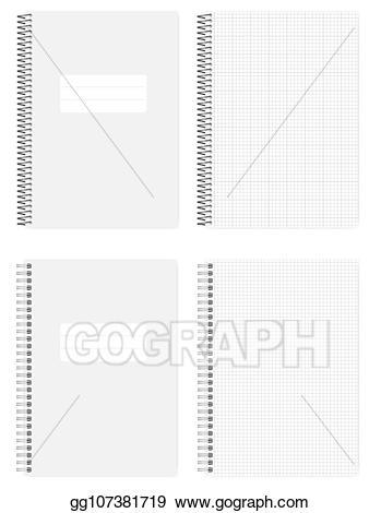 Notepad clipart spring. Clip art vector a
