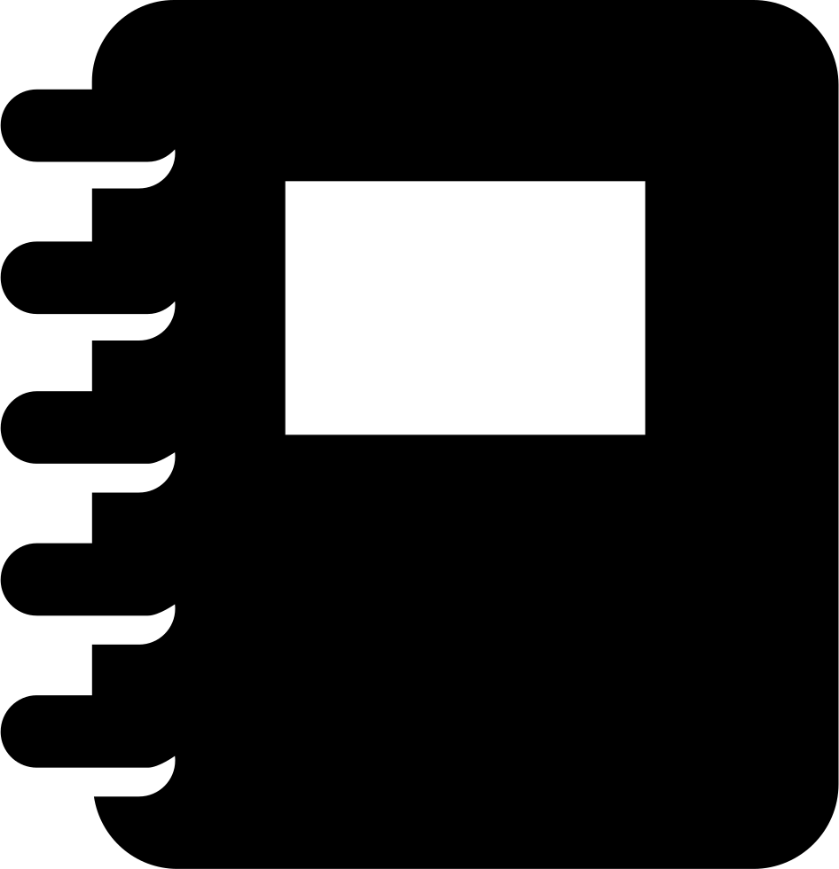 With svg png icon. Notepad clipart spring