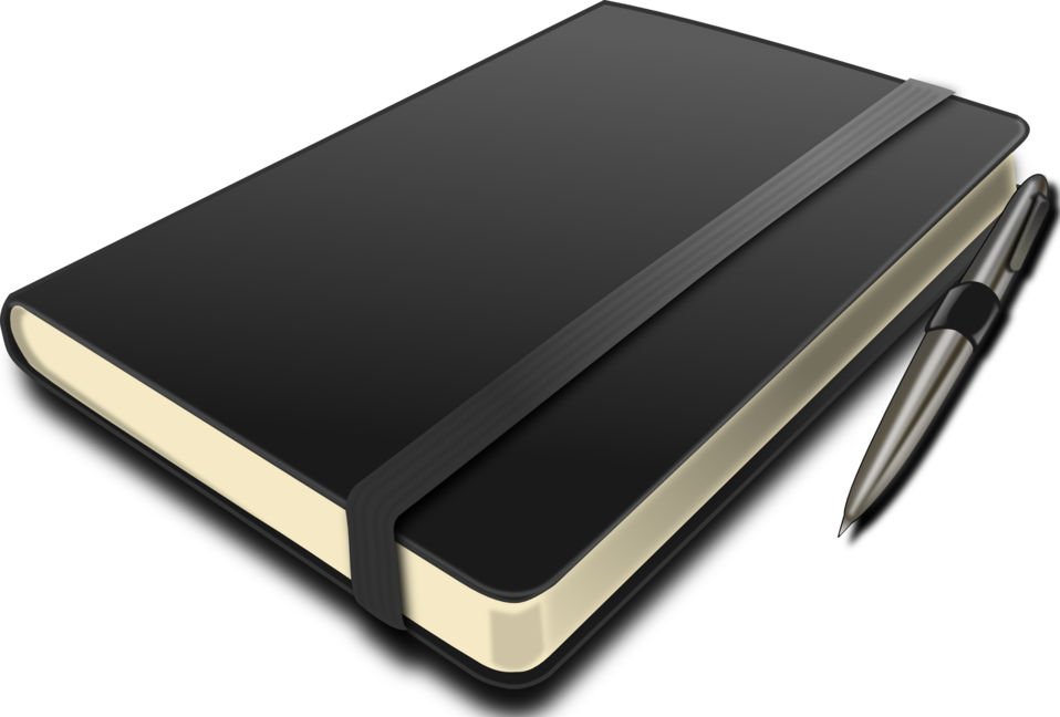 notepad clipart writer's notebook