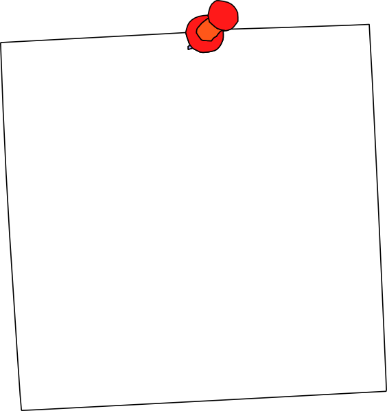 Whitesticky clip art at. Notepad clipart writing pad