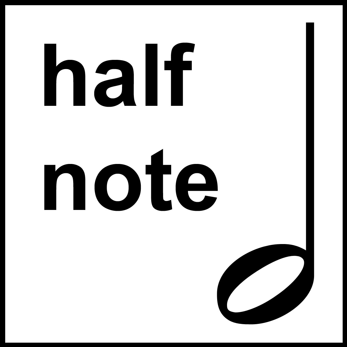 Beth music half note. Notes clipart lesson