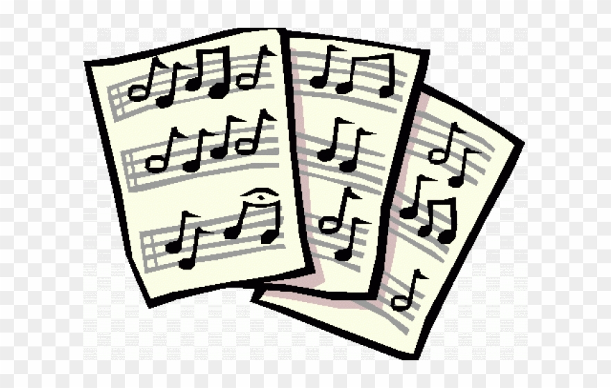Notes Clipart Music Score Notes Music Score Transparent Free For Download On Webstockreview 2021