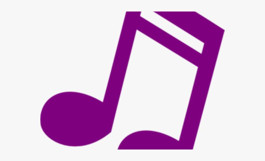 Notes clipart purple. Musical music clip art