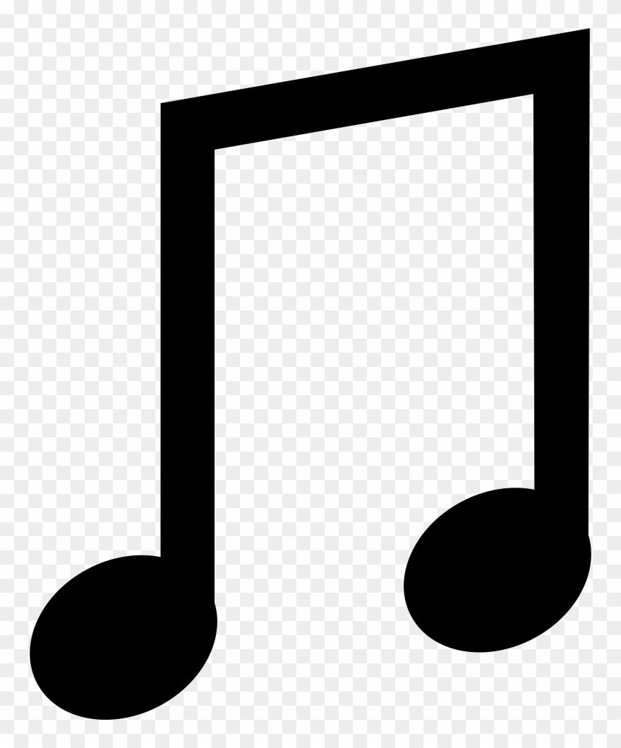 Notes clipart simple. Png file music pinclipart