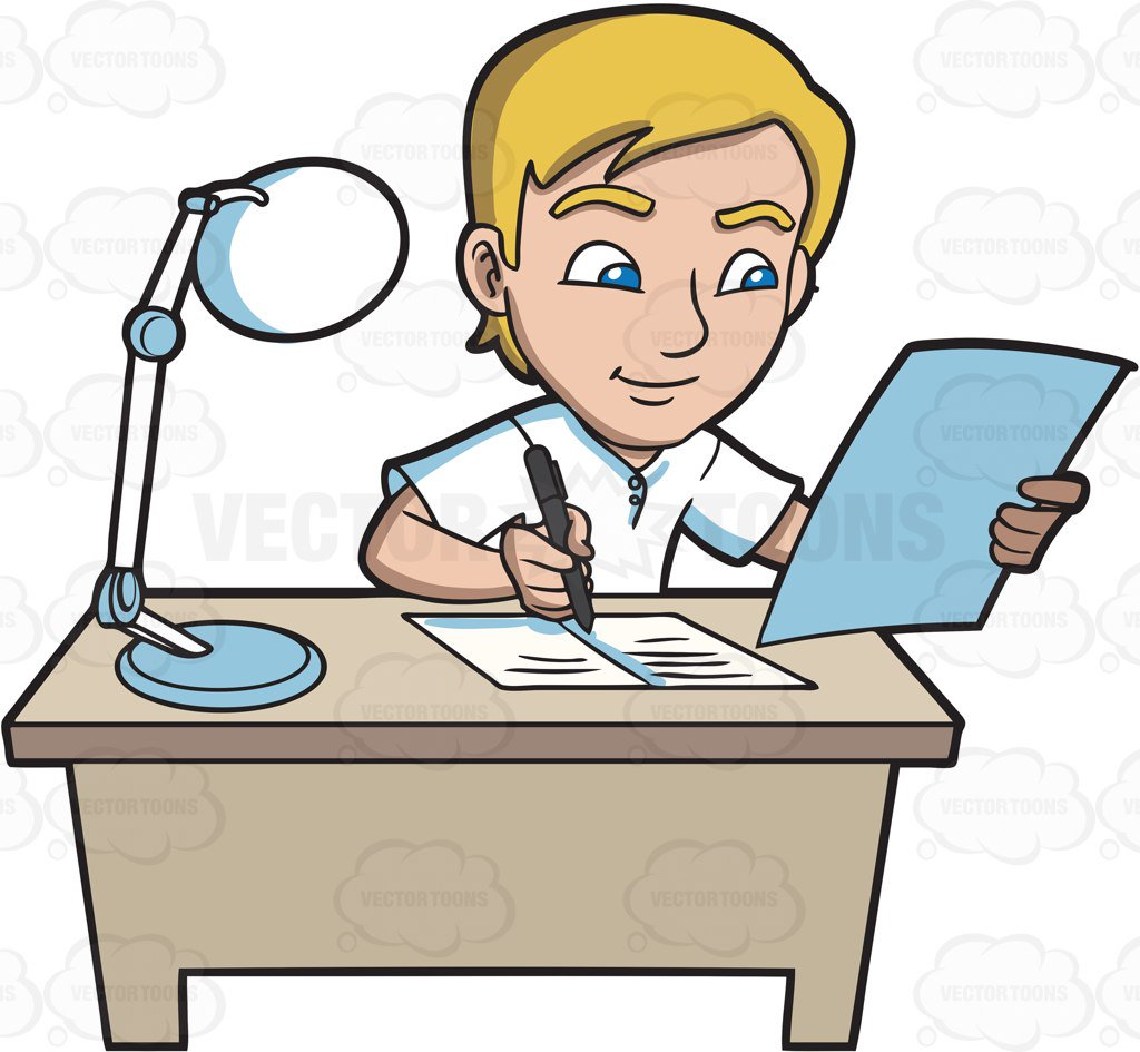 Writer clipart write this down. Students writing free download