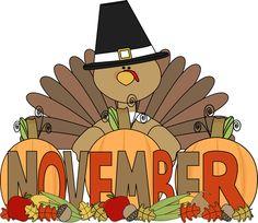 Happy . November clipart