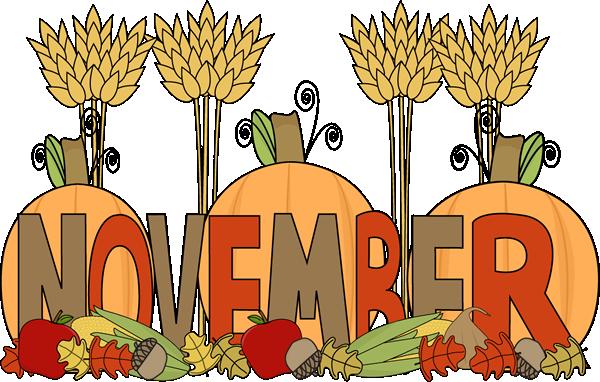 November clipart. Free download clip art