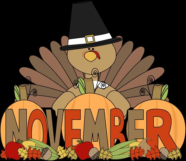 Fall cliparts zone . November clipart orange birthday