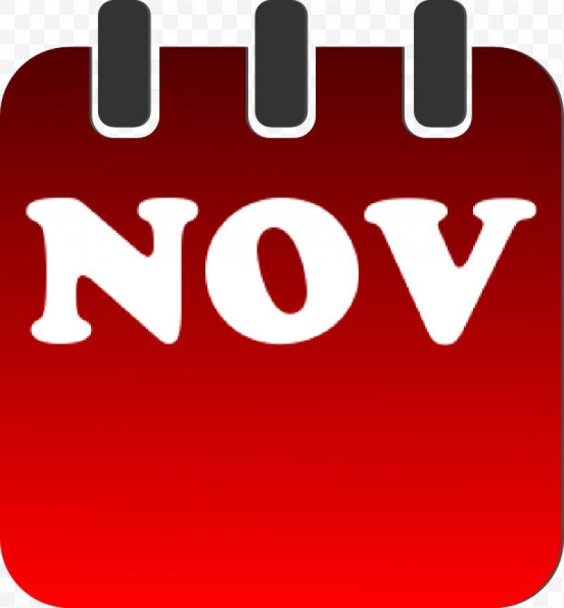 November clipart symbol. Calendar clip art png