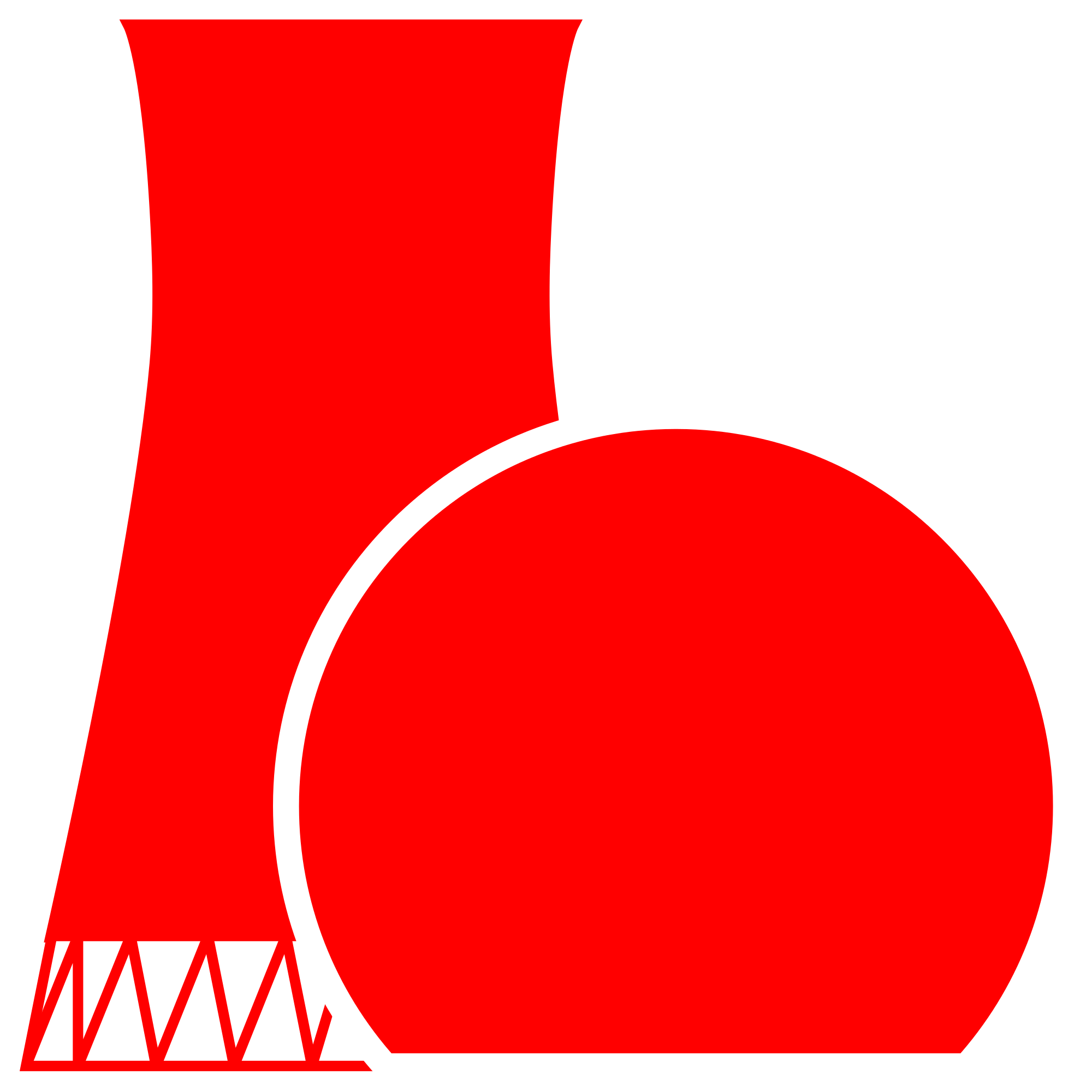 Nuke clipart nuclear power. File plant icon red