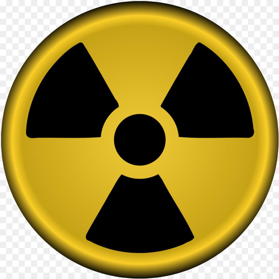 Nuke clipart nuclear power. Radiation symbol circle transparent