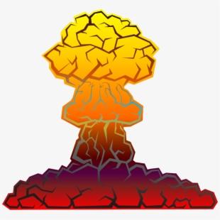 Nuke clipart nuclear test. Explosion transparent cartoon free