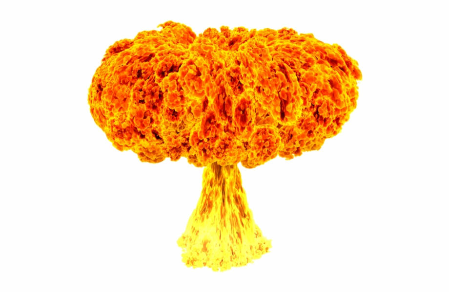 Explosion png gif transparent. Nuke clipart nuclear test