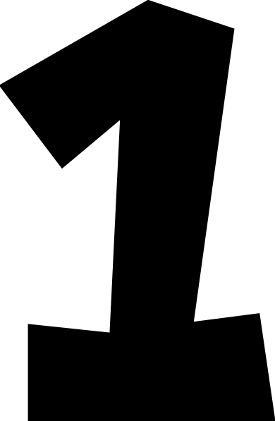 collection of number. One clipart