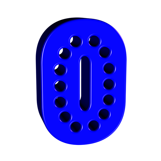 Number 1 clipart 1blue. Stylish numbers to print