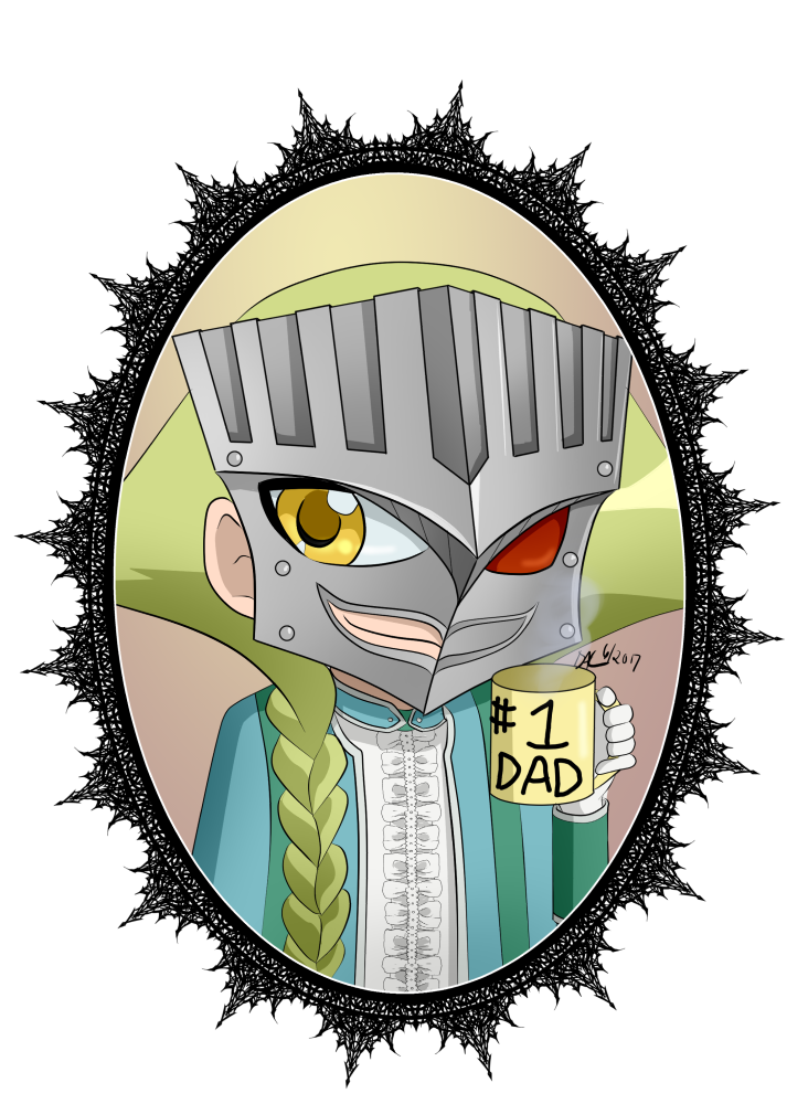 Number 1 clipart dad. Tron no yu gi