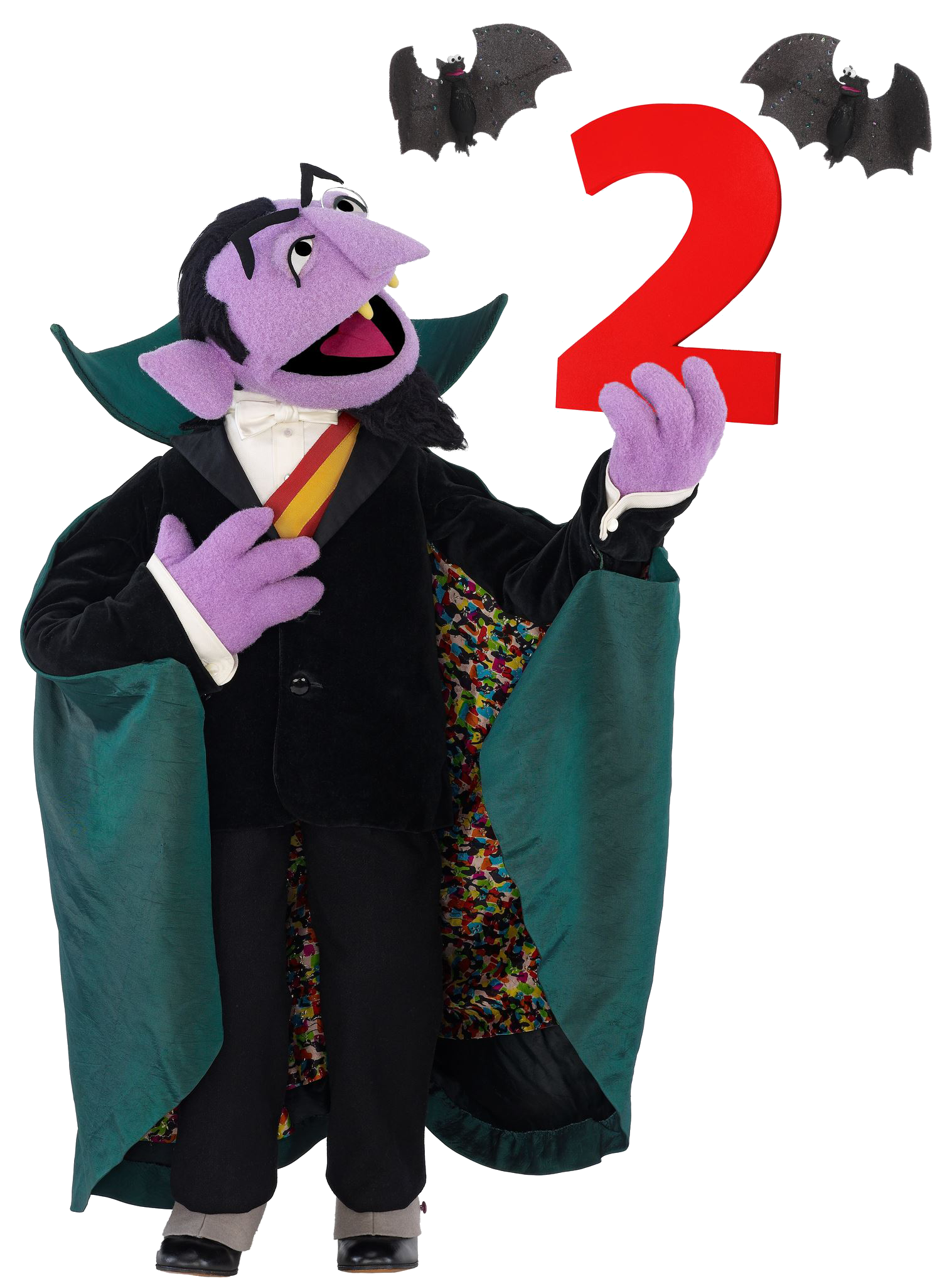 Weekly muppet wednesdays count. Number 2 clipart elmo