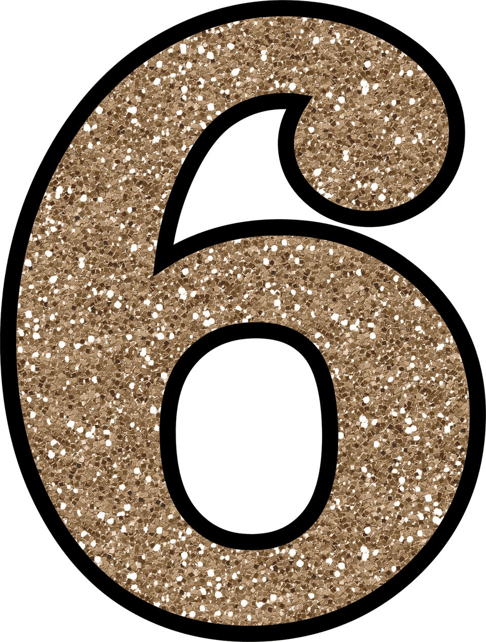 Number 2 clipart glittery. Glitter without the mess