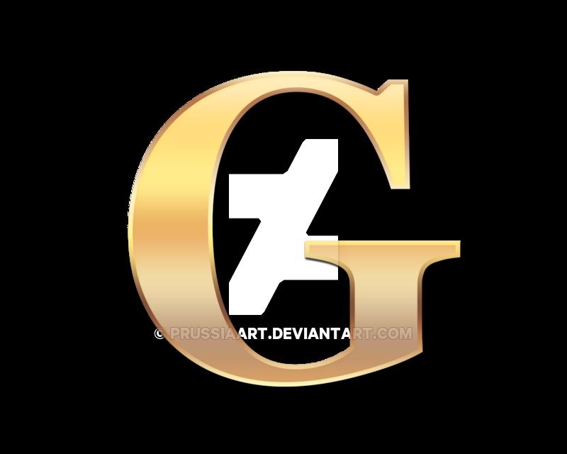 Number 1 clipart gold. Golden letter g by
