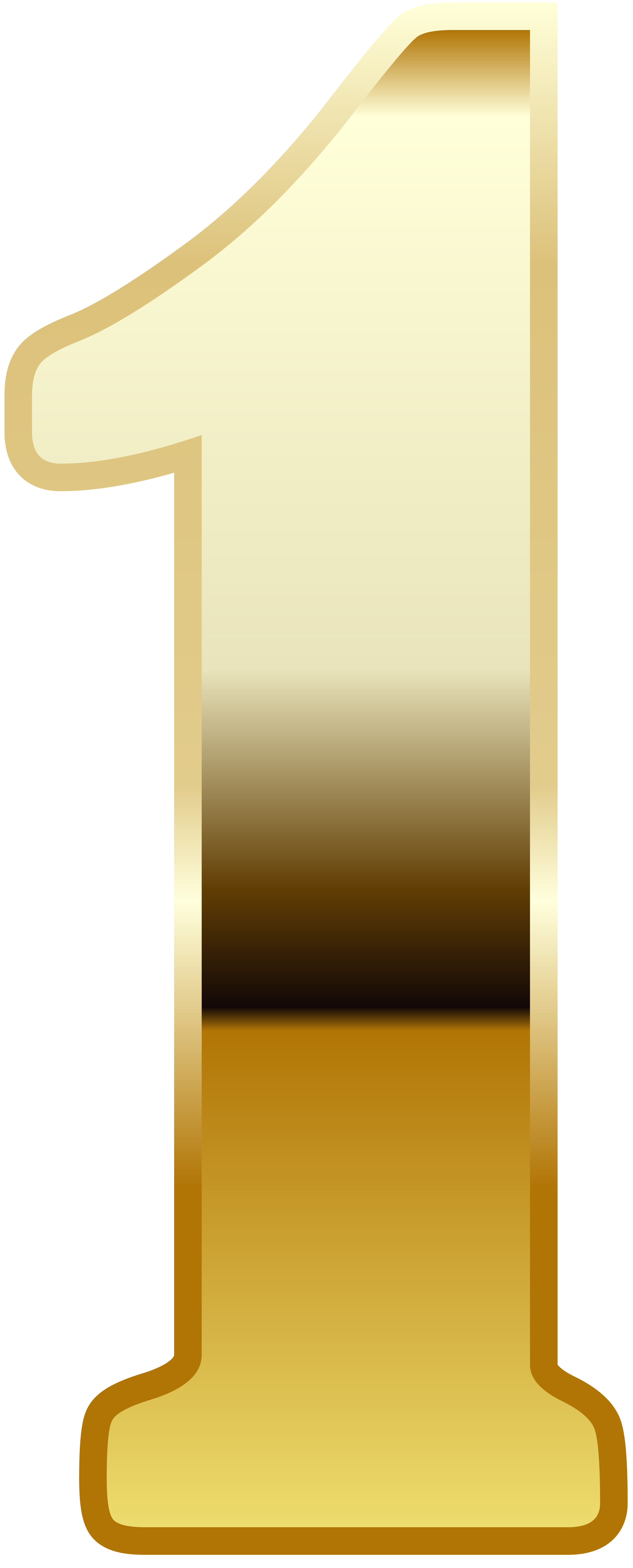 collection of high. Number 1 clipart gold