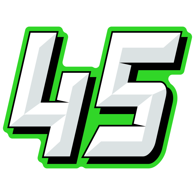 Number 1 clipart green. Multicolored race numbers chiseled