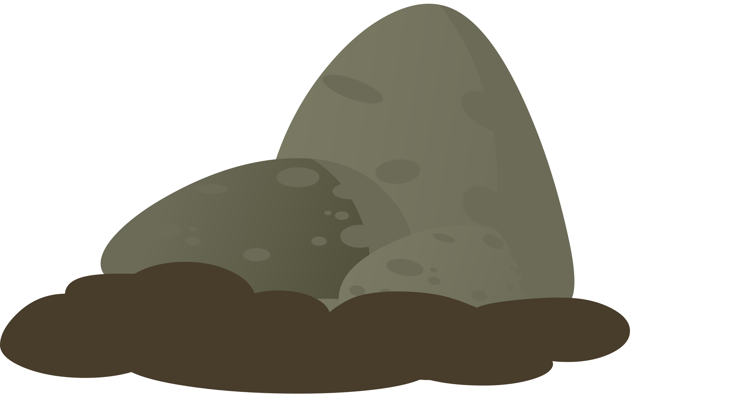 Number 1 clipart group 1. Firebog stone moss big